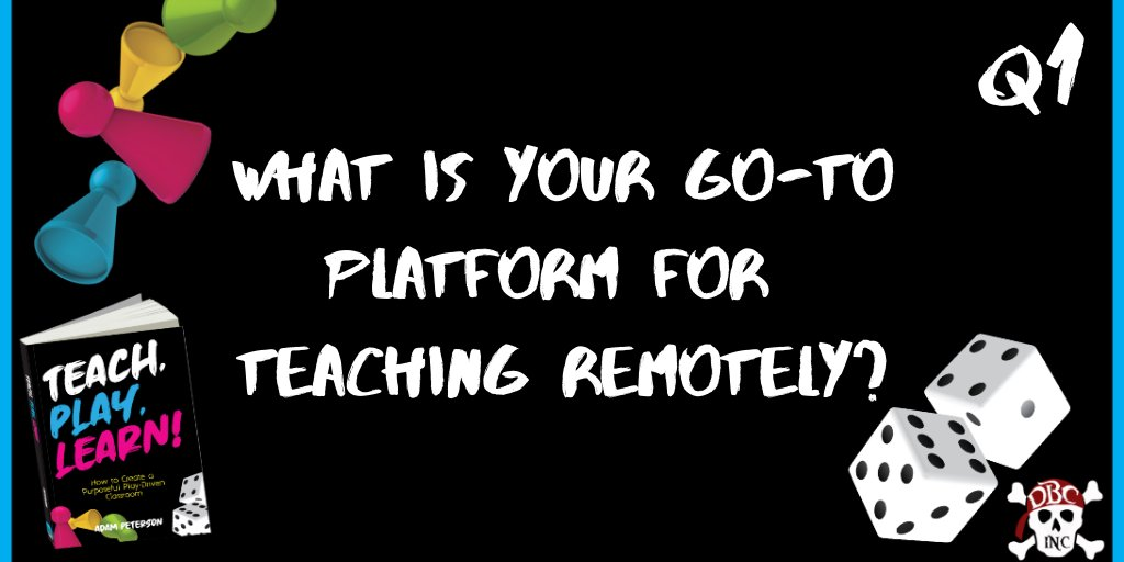 Q1 What is your go-to platform for teaching remotely? #tlap