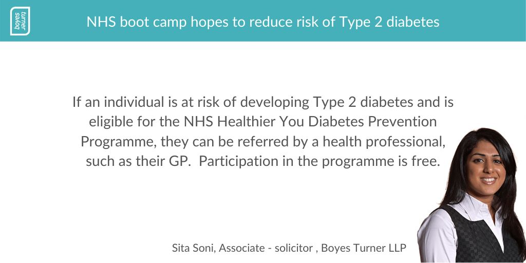 test Twitter Media - Our expert solicitor Sita Soni talks us through the NHS boot camp which hopes to reduce the risk of Type 2 diabetes https://t.co/McAZ7CPKot #DiabetesPrevention #Type2 #Diabetes #MedicalNegligence https://t.co/DxXF1UWE8P