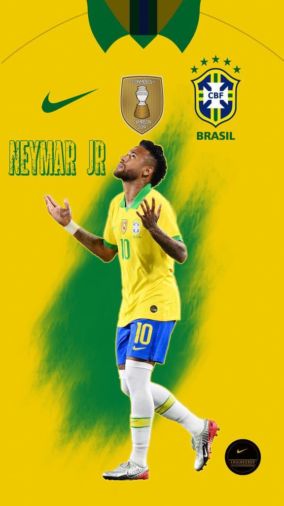 Brazilian sensation  My work!  @mdzidane11   Lock screen wallpaper   #Neymar #neymarjr #Brazil pic.twitter.com/Q1IfTpdFoF