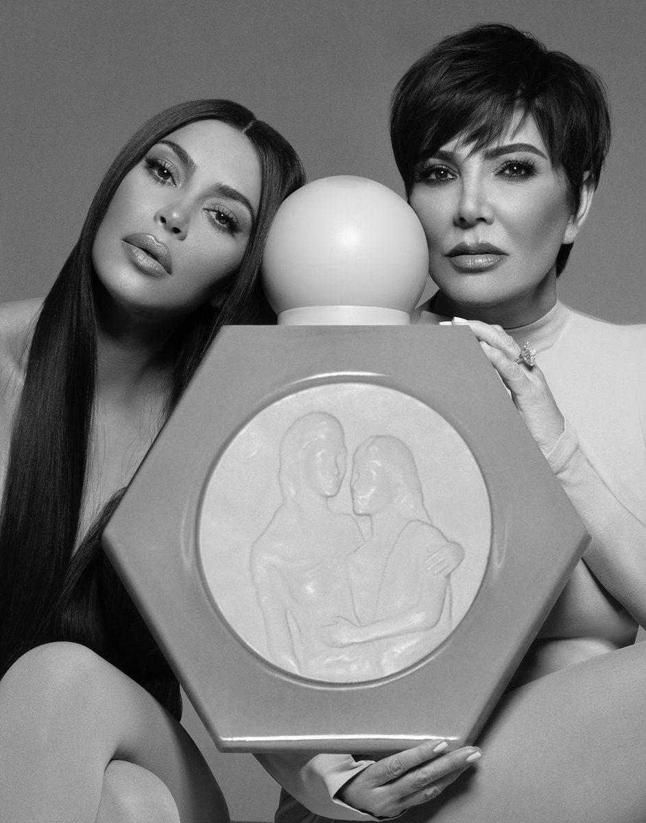 My mom @KrisJenner & I are so excited to announce the launch of KKW x KRIS, our first ever @kkwfragrance collaboration. A woody, white floral fragrance with the freshness of freesia, creamy white gardenia and tuberose at the heart - I know you will love wearing it as much as I dopic.twitter.com/vS5gvqSlWm