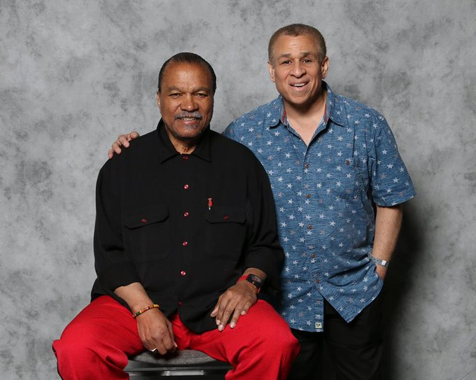 "HAPPY 83rd BIRTHDAY TODAY (April 6th) to the legendary ""Lando Calrissian\"" himself, BILLY DEE WILLIAMS!"