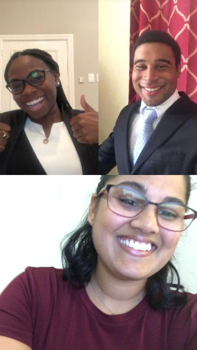 The UWI Cave Hill Law Society extends major congratulations to the WTO Moot Team. The team, Sarah Baksh, Kara John and Matthew Chin Barnes competed in the John H Jackson WTO Moot Court Competition (via video conference) and placed 2nd in the Grand Final of Anglophone America!