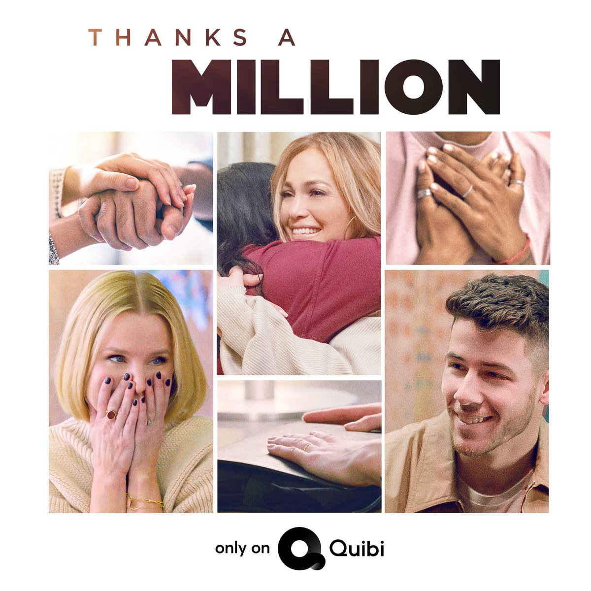 It's here!  Don't miss me in the first episode of #ThanksAMillion, available now on @quibi. I'm so proud of this show. https://link.quibi.com/watchnow @egt239 #NuyoricanProductions @B17Entpic.twitter.com/f4XYrl1bZd
