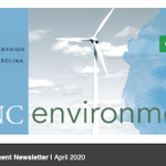 Image for the Tweet beginning: April e-news out today! Read