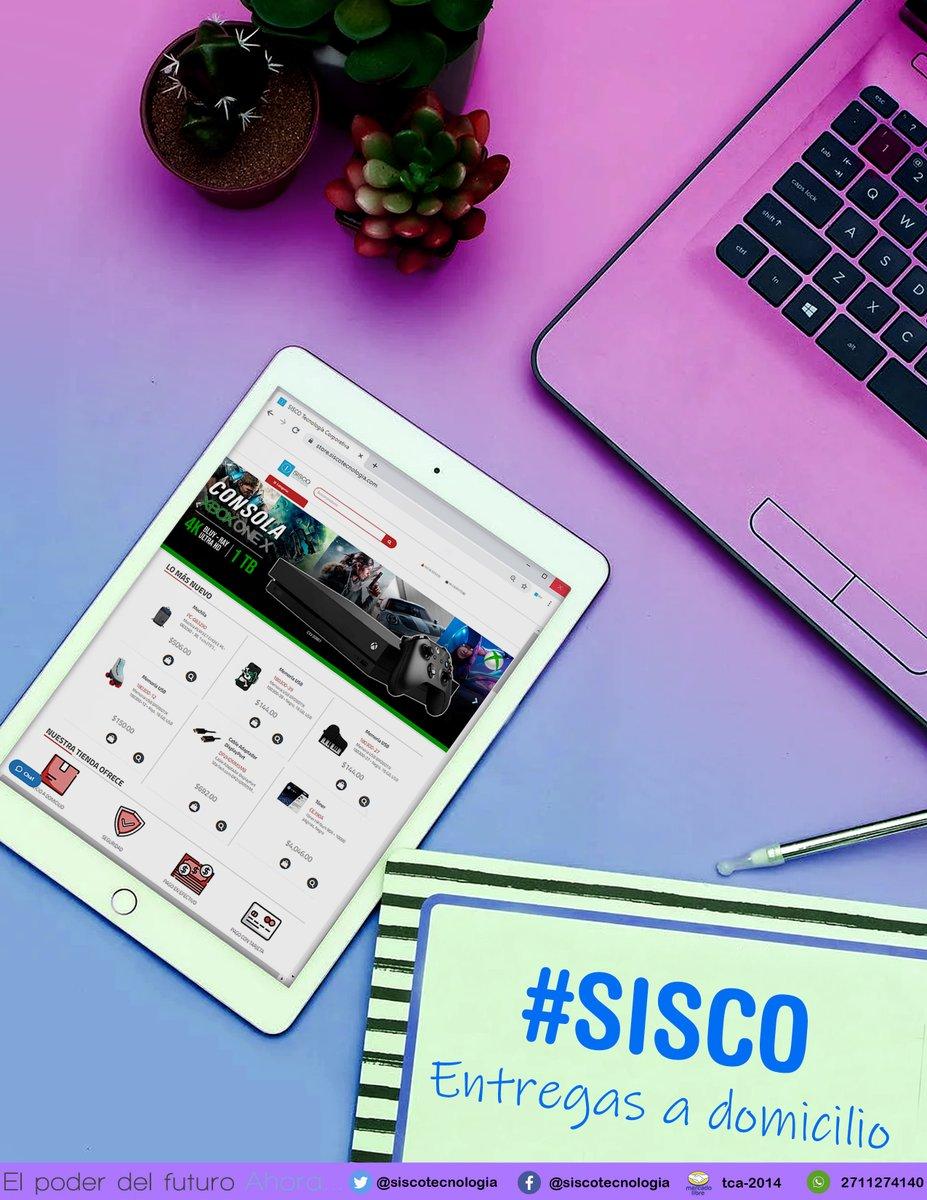 NO SALGAS DE CASA, VISITA NUESTRA PÁGINA WEB 🛒🛍 Visita nuestro sitio web... una forma más fácil de comprar , con entregas a domicilio😉👌 *Nuevos Métodos de pago y de envió y MÁS PRODUCTOS* 📲🖨💻 🔴👉 store.siscotecnologia.com 👈 #Super #Sisco📦 -Tenemos la solución- 🖱