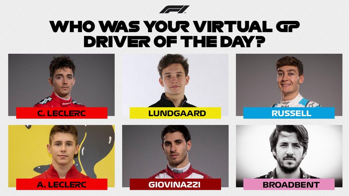 A tough choice... 🤔  #VirtualGP #F1Esports