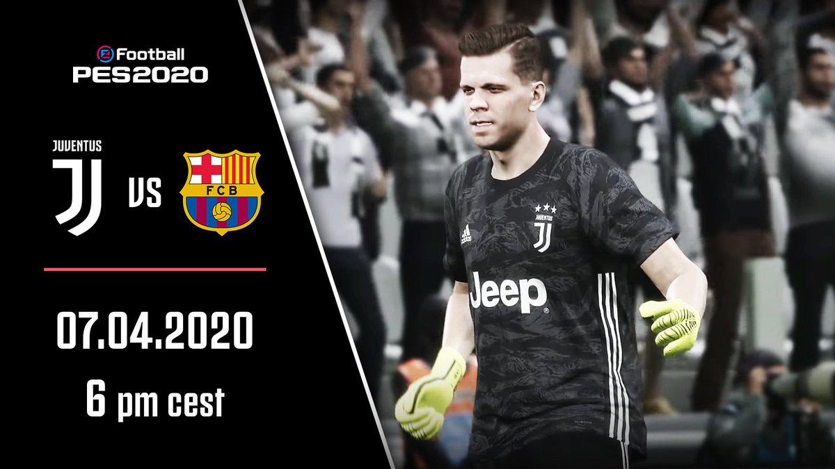 ¡De vuelva al campo (virtual)! 💪🎮  ⚪️⚫️ Team Juventus 🆚 @FCBeSports: Mañana desde las 🇮🇹 18:00 | 13:00 🇦🇷🇺🇾 | 11:00 🇲🇽🇨🇴 EN VIVO a través de http://YouTube.com/Juventus  #JuveEsports @Konami @officialpes @PESlatam