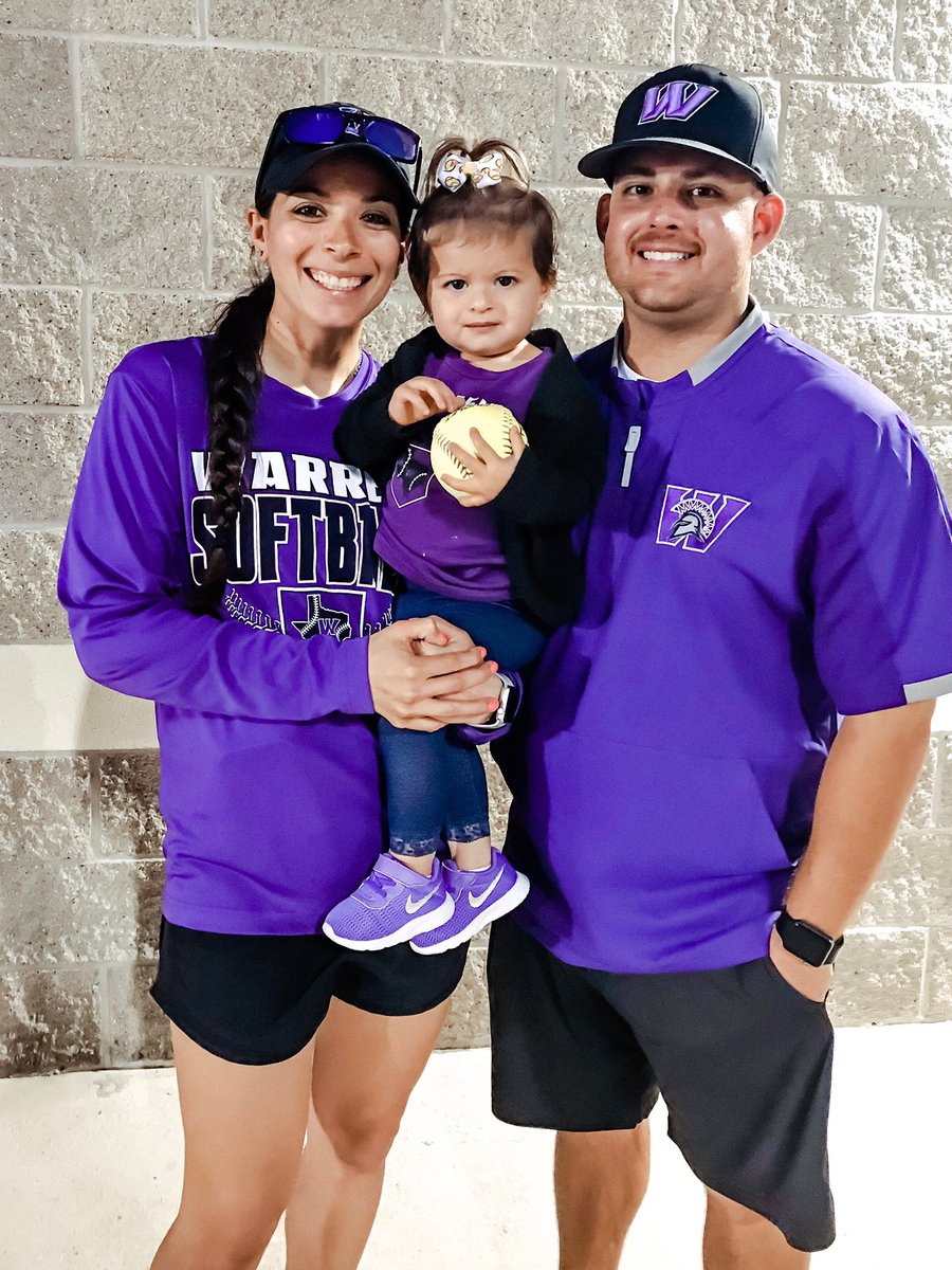 We are so glad we got to take this picture after one of the games this season. The Morales family is REALLY missing coaching and the softball girls #Family pic.twitter.com/IyQSjB2b19