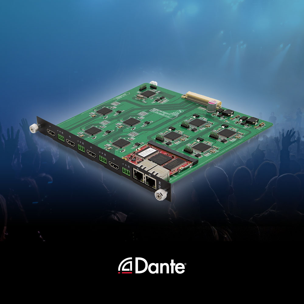 Don't compromise on your next project! Experience seamless Dante® audio support with Media Axis™.  #PureLink #Beyond4K #Dante #DanteAudio #MediaAxis #avsolutions #avtech #avtweeps #av #ip #audio #visual #audiovisual #tech #technology #proavpic.twitter.com/q38aY9Cl9X