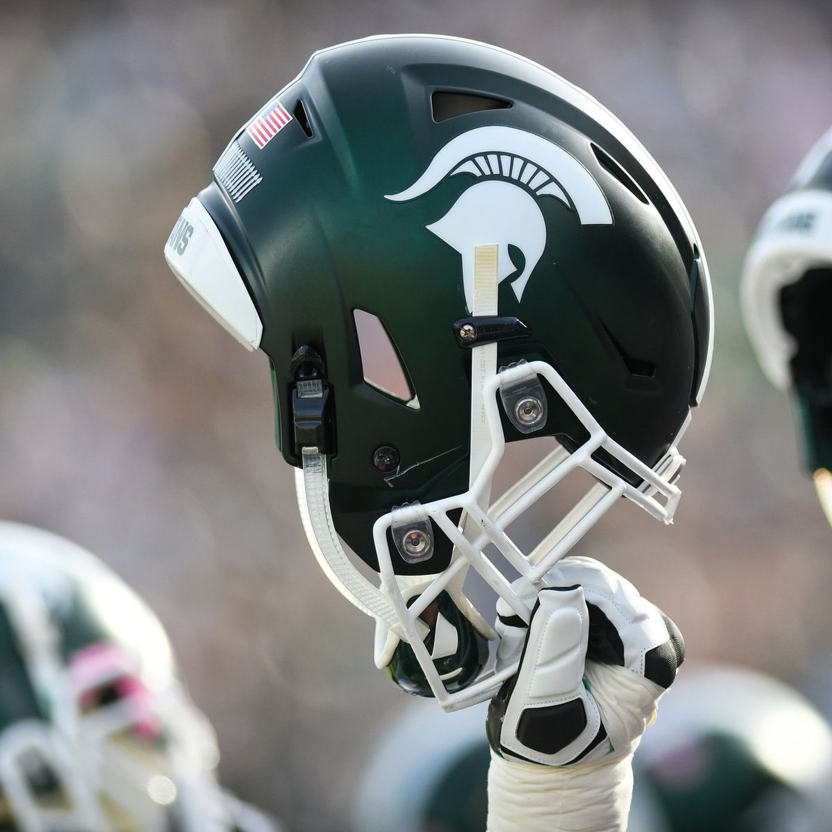 Blessed to be re-offered by Michigan state #GOGREEN 🟢⚪️