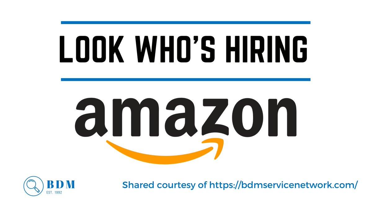 Senior Financial Analyst, AMZN CAN Fulfillment Svcs, ULC in #Brampton, #Ontario. Apply here https://www.amazon.jobs/en/jobs/1104673/senior-financial-analyst… #cfmjobs #hiring #hiringnow #nowhiring #job #jobs #careers #jobopening #jobopenings #jobhunting #jobseekers ~ shared courtesy https://bdmservicenetwork.compic.twitter.com/YvJzh8LpUr