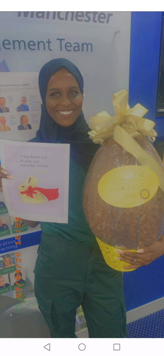 Who can resist chocolate? We certainly can't but there is a limit! Thank you @Lindt 🙏 for your v generous gift of lots of chocolate. We decided to share our good fortune and raffle this amazing #Easter egg for charity💚🌈 #StayHomeSaveLives @NWAmbulance