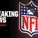 Image for the Tweet beginning: Breaking: The NFL has advised