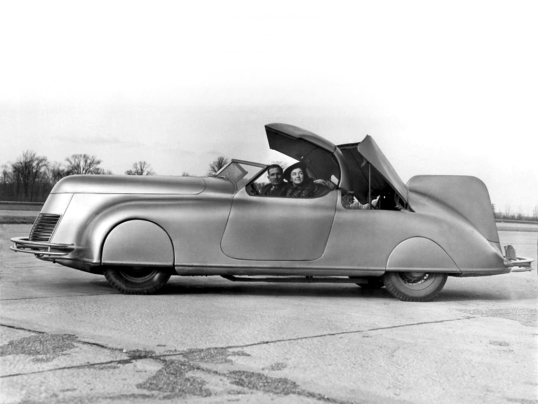 1938 #Dan LaLee #convertible #Streamline #Car What became of this #artdeco #automobile? Believed to have been developed in #Michiganpic.twitter.com/qTZoRMITym