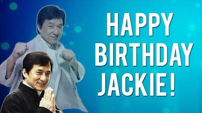 Jackie Chan Happy birthday