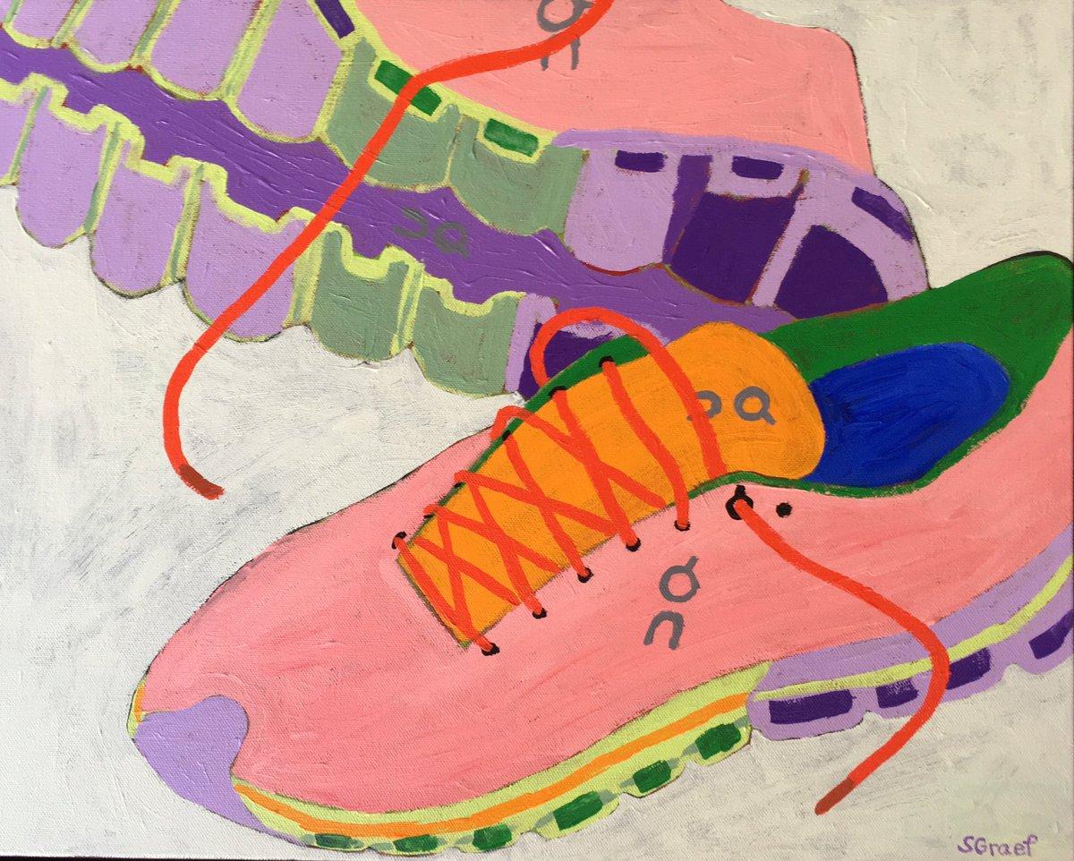 SHOES #shoes #painting #art #contemporary pic.twitter.com/9qujMXMIVW