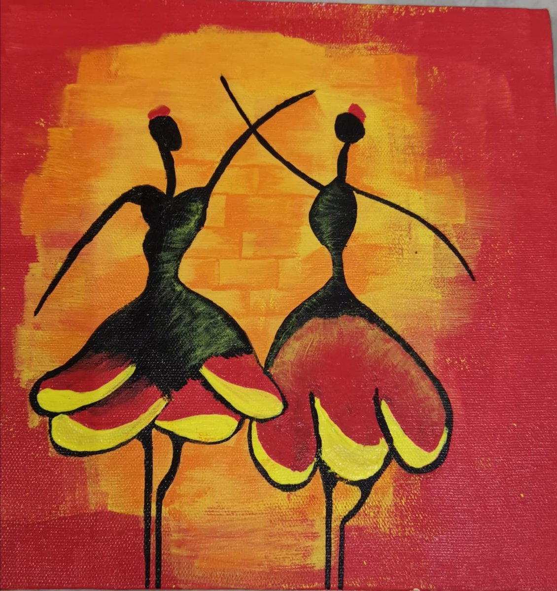 #norarts #canvas A beautiful painting done by me pic.twitter.com/Y5u4OwxvWI