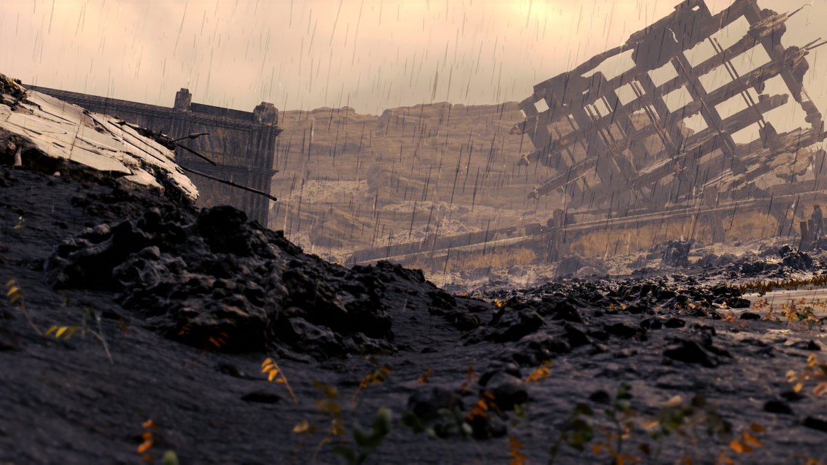 I also feel a strong sense of sadness around these ruins #DeathStranding #DeathStrandingPhotoMode #VGPUnite #GamerGram #TheCapturedCollective
