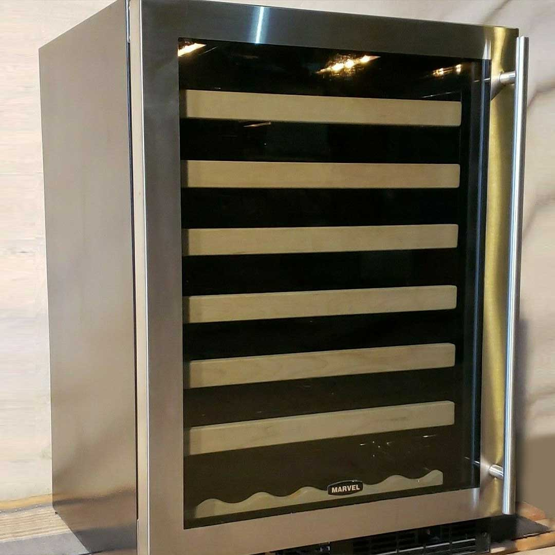 Community Forklift On Twitter If Your Fridge Is Bursting With Stockpiled Charcuterie Cheeses This Marvel 24 Stainless Steel Wine Cooler Could Be For You It S 25 Off In The Communityforklift Ebay