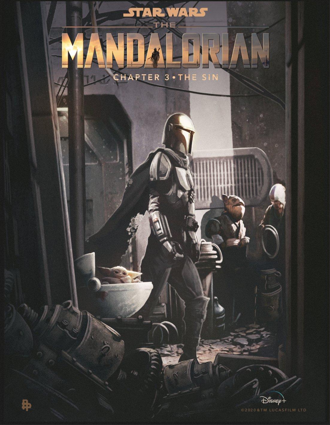 Nieuwe Mandalorian fanposters op Disney+