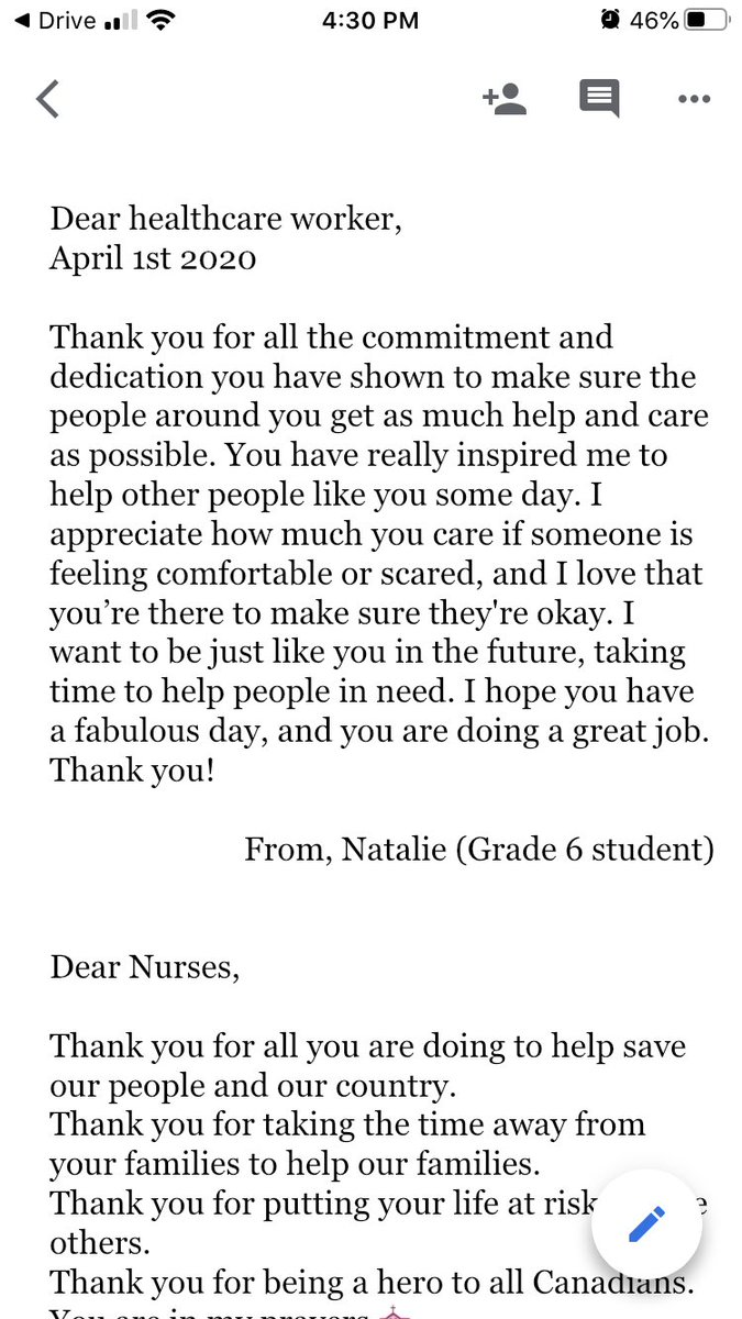 Nursing Thank You Letter from pbs.twimg.com