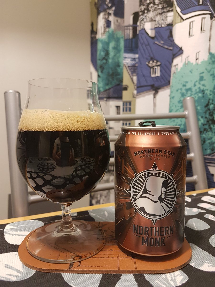 Next up is Northern Star, a tasty mocha porter from @NMBCo! #craftbeer pic.twitter.com/86cgutJ12s