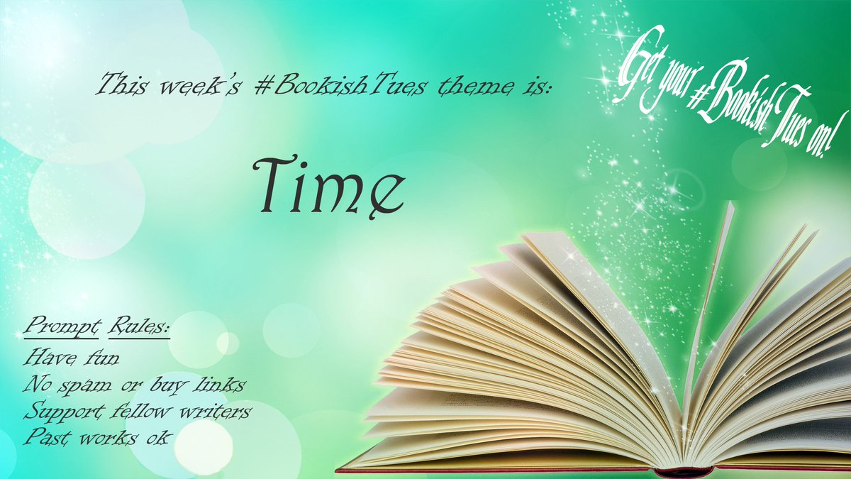 The #BookishTues theme for this week is: #TIME pic.twitter.com/qxQafc7X7w