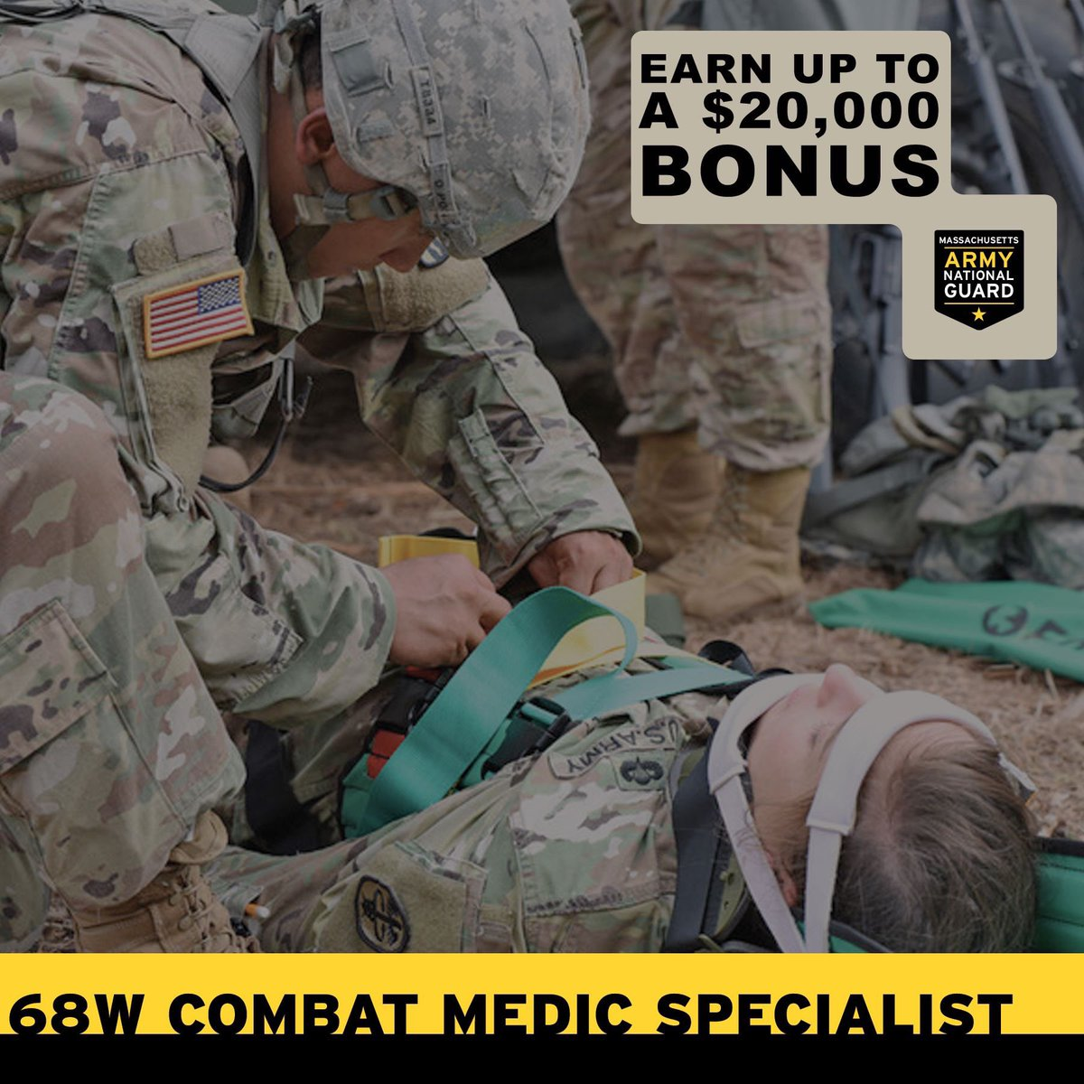 Our 68Ws are primarily responsible for providing emergency medical treatment, limited primary care, and health protection and evacuation from a point of injury or illness. During times of local emergency, they activate to assist civilians and Soldiers to stay healthy and safe.pic.twitter.com/7qD4ihT3TG