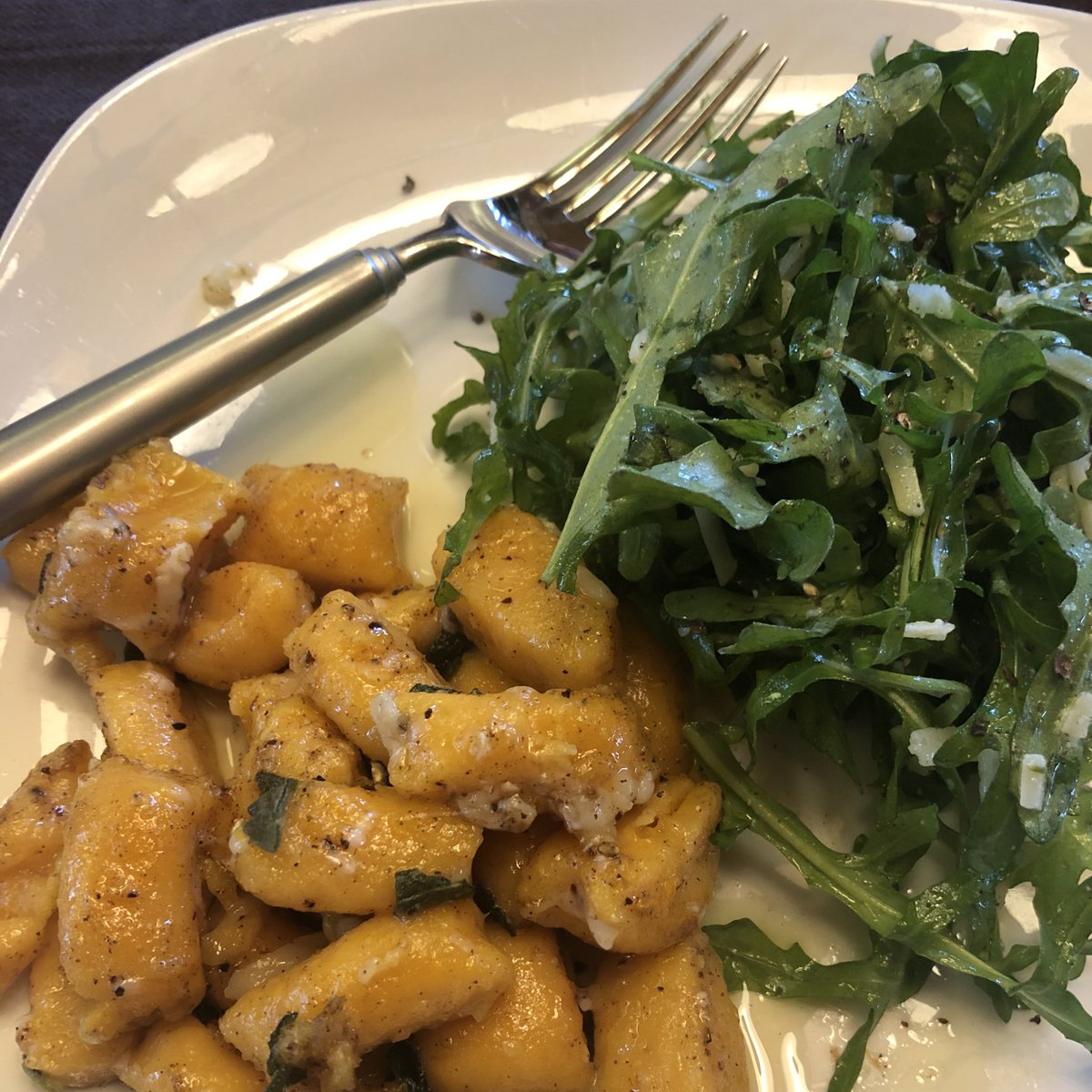 Carmen Miller On Twitter Covid Cooking With A Little Help From Chrissyteigen Sweet Potato Gnocchi W Brown Butter And Sage Red Chicken Curry And Pad Thai Carbonara Ftw Socialdistancedinner Covidcooking Https T Co Wzehv0cdzb