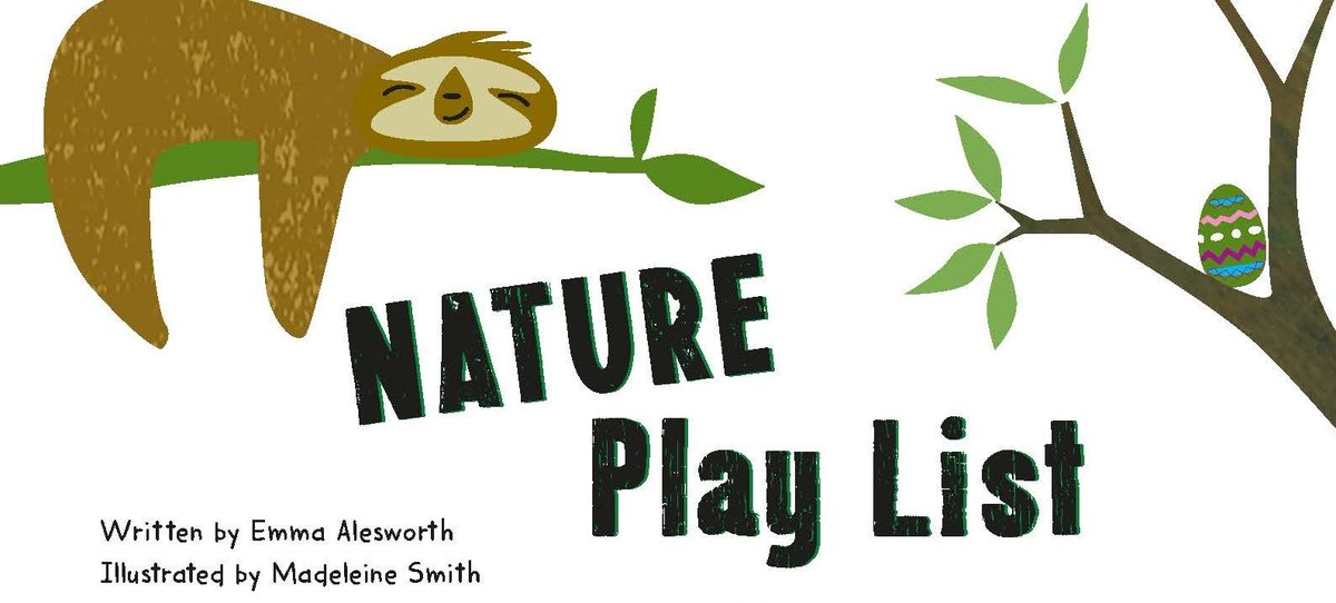 A great resource for children and families to be creative and have fun whilst stuck at home #natureplaylist