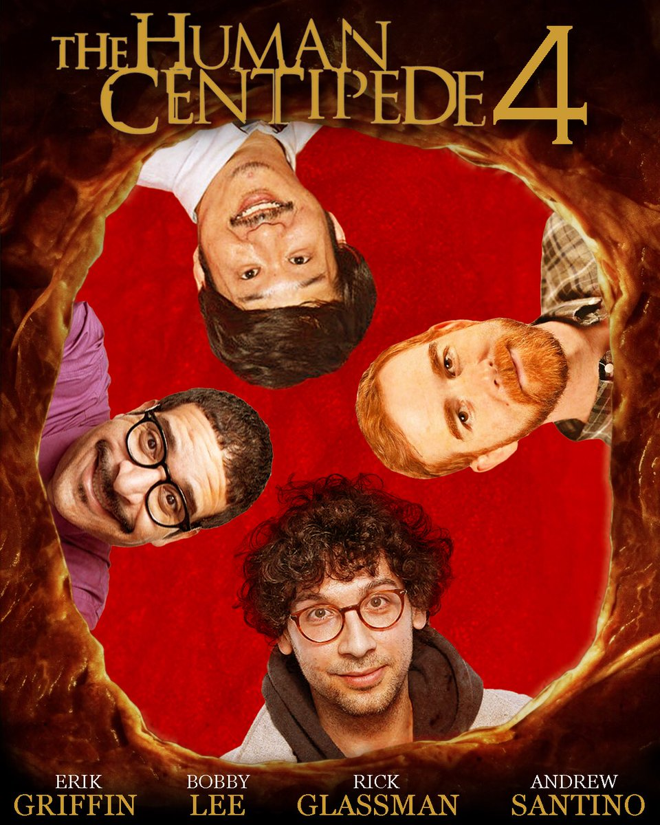 Who's seen this?! #HumanCentipede4