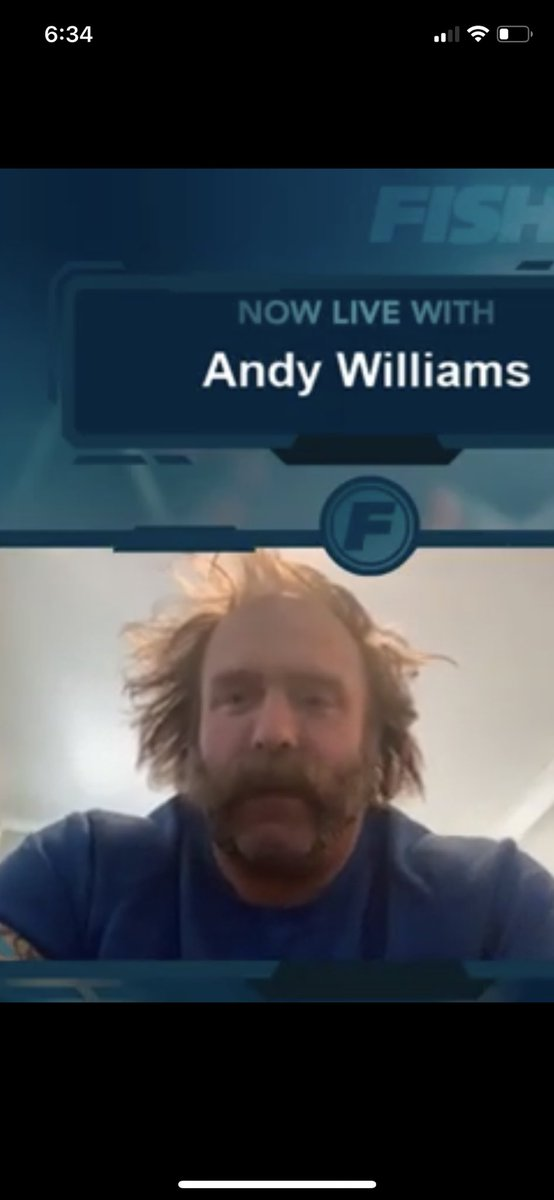 Andy Williams is my quarantine spirit animal @andycomplains
