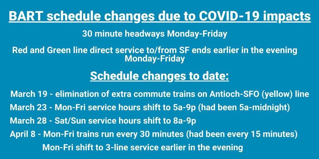 Transit Alert: schedule changes - Effective WED 4/8.