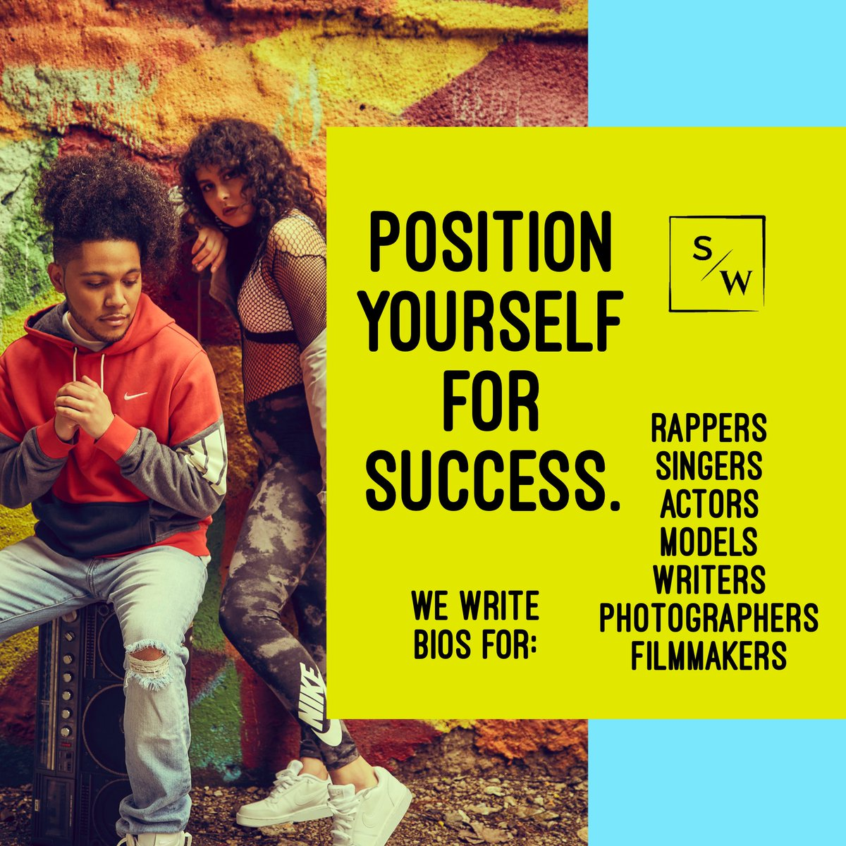 It's all about your POSITION!   Calling all #actors #musicians #entrepreneurs who need writing services!   DM us today!pic.twitter.com/r6U8vjOtrM