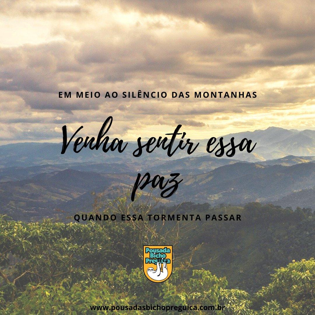Em meio ao silêncio das montanhas, venha sentir essa paz quando essa tormenta passar! #pousadasbichopreguica #camposdojordao #euamocamposdojordao #capivari #vilacapivari #frio #friozinho #turismo #passeio #viagem #arpuro #montanha #amoviajar #serradamantiqueirapic.twitter.com/UJoKC78WxQ