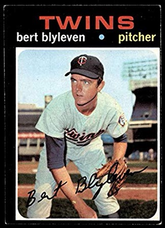 Happy Birthday Bert Blyleven!  Throw down a teammate of his!