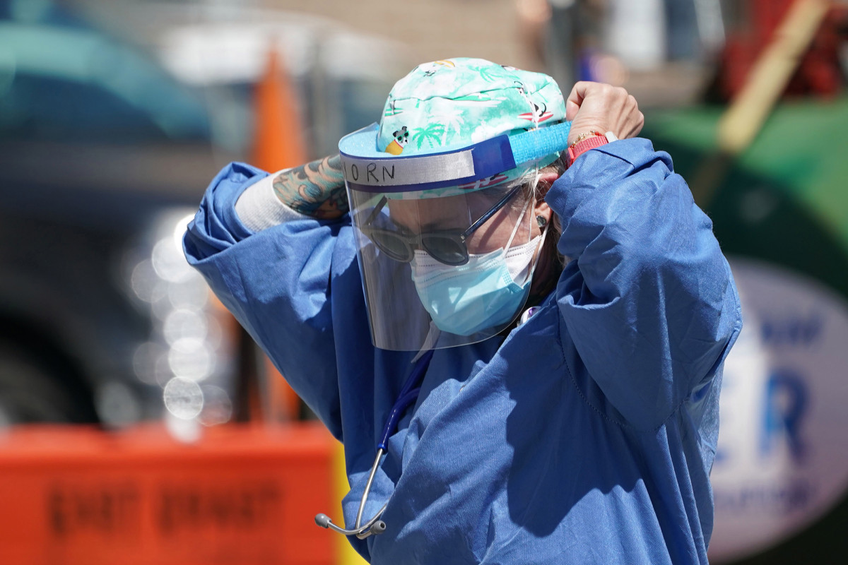 64% of NY nurses lack adequate gear, 72% exposed to coronavirus, survey says https://t.co/Jv2BXWGAov https://t.co/vcqcHlnO2m