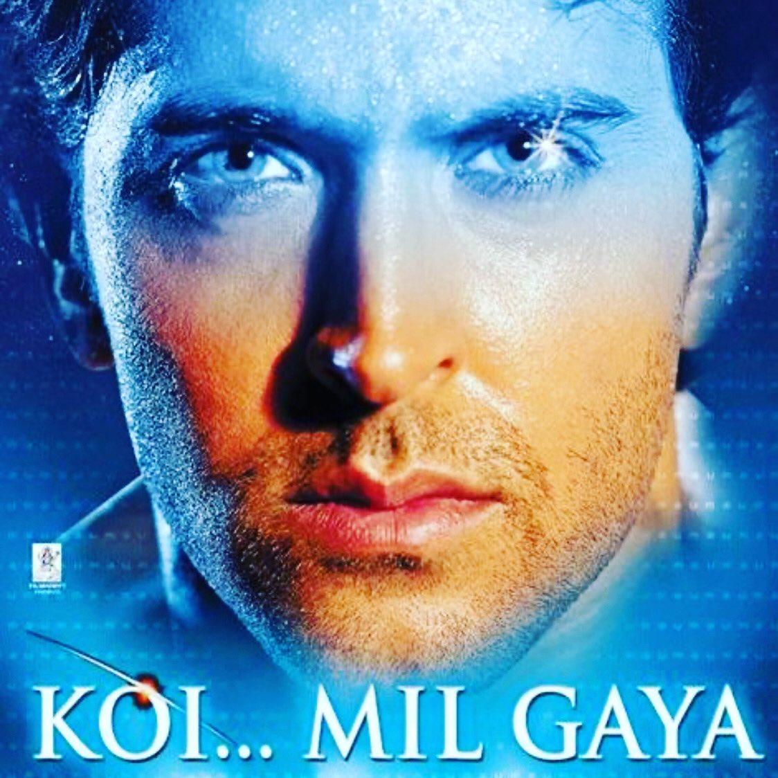 Koy Mil.... Gaya - Transl. I've met...Someone(2003)   Indian Cinema's answer to ET?  This movie launches the successful Krrish franchise,(Superhero films), one of the highest-grossing film series in India  #bollywoodmovies #koymilgaya #HrithikRoshan #preityzinta #superheropic.twitter.com/PHN8Kgmz0O
