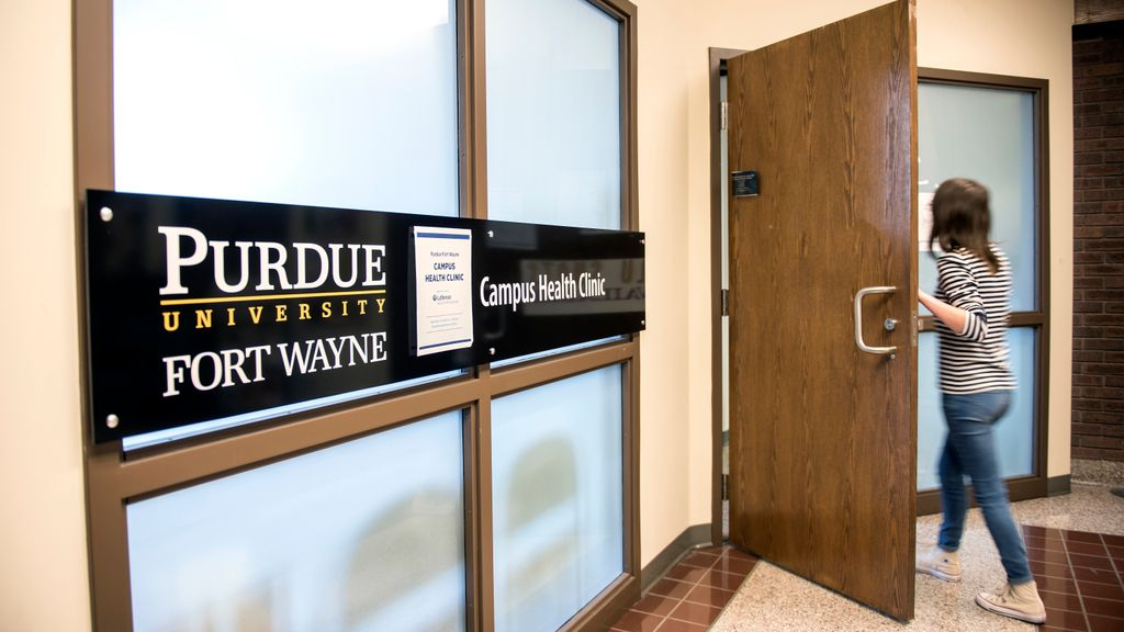 Telemedicine visits are now available to Purdue Fort Wayne students, faculty, and staff. To schedule an appointment, contact the Campus Health Clinic at 260-481-5748 or clinic@pfw.edu to be screened; clinic staff will determine whether an in-person or virtual visit is needed. pic.twitter.com/sCoEnb4UYD