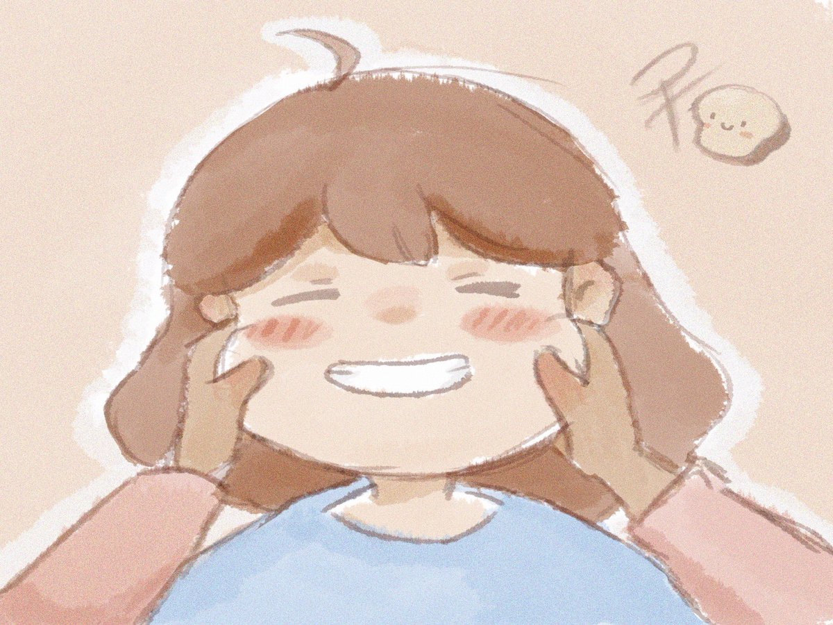 """6: """"Happy"""" Let's do our best and stay home! • #illustration #happy pic.twitter.com/LuMWVhFXyK"""