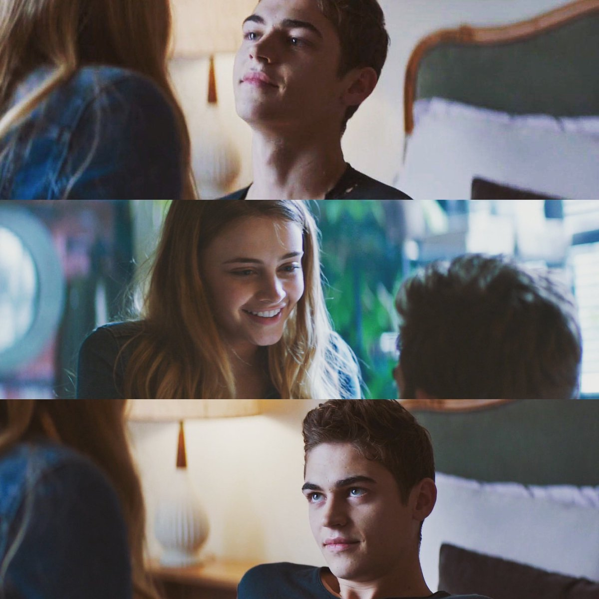 «I am not romantic.» «Yes, you most certainly are. That letter was one for the classics.» Hardin and Tessa #afterwecollided #hardinscott #tessayoung #hessa #herofiennestiffin #josephinelangford #annatoddpic.twitter.com/zt7c9bU4El