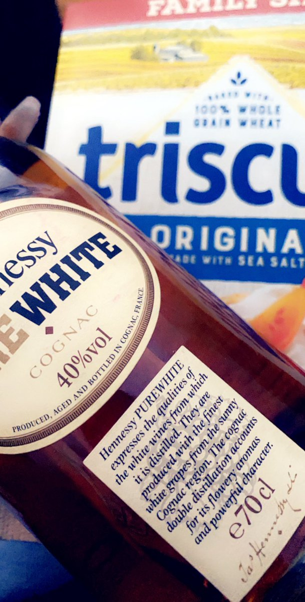 Had my at home communion yesterday with triscuits and white Henny. SMH #PalmSunday #FirstSunday