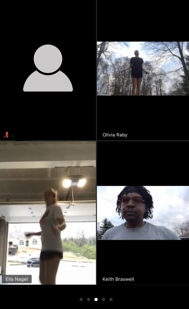 Where there's a will there's a way #OURWAY - Stay Home Sessions!!! GREAT JOB LADIES!!! @kirby_kemper @Cubanb50 @ViviClayton @Olivia_Raby_  @NiaKemper4 @LindesmithMahya @ellanagel_ @RazzanoGabbypic.twitter.com/eUSOiTw7td