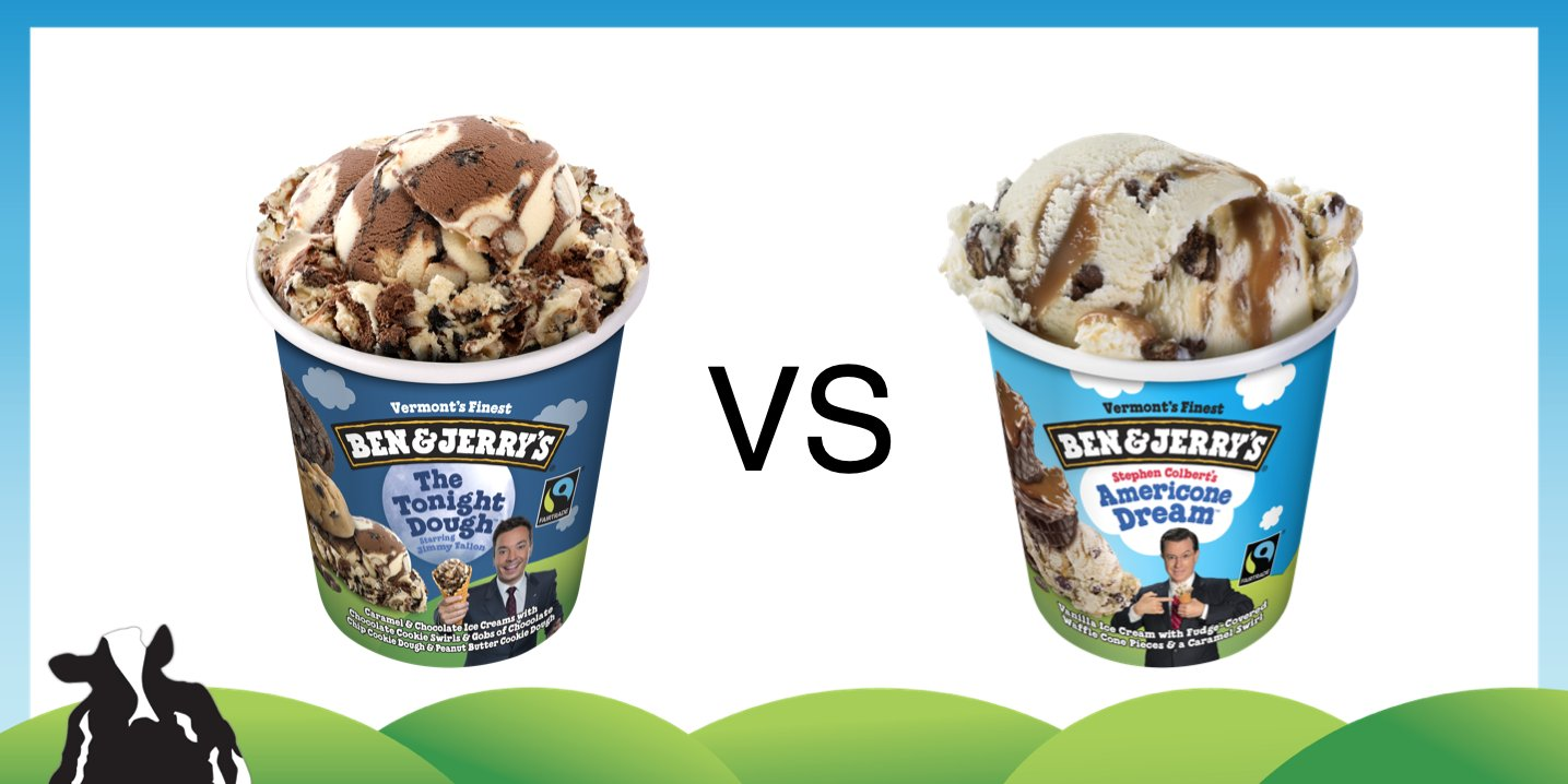 Ben Jerry S On Twitter The Benandjerrysbracket Is Now On Part Four Of Round Four The Tonight Dough Vs Americone Dream Vote For Your Favorite Flavor In The Poll Below Https T Co Aymbyenmzw Последние твиты от the americone dream🇺🇸 (@americone_dream). the tonight dough vs americone dream