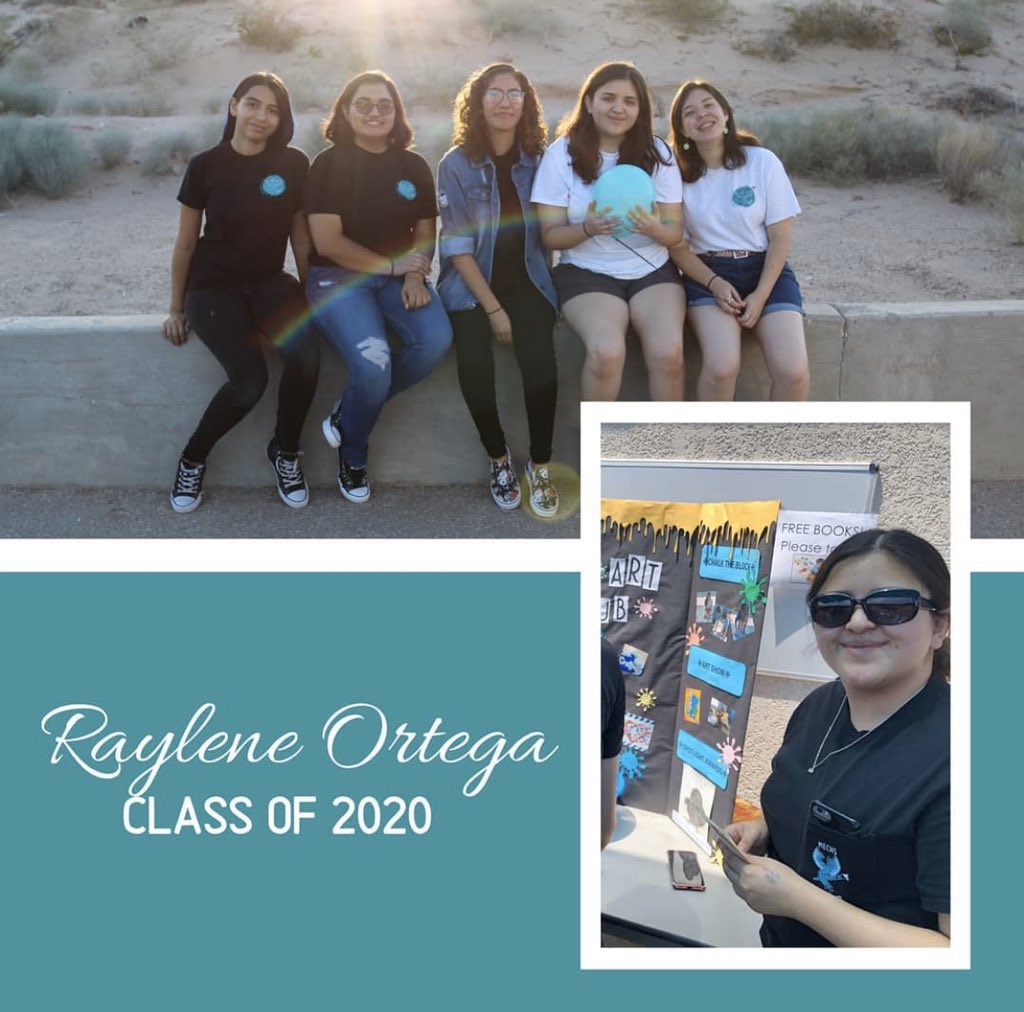 ⭐Senior Spotlight⭐Raylene is 1 of MECHS most artistically talented students! Founding Art Club! Taught tutorials w mmbrs learning new techniques. organized & helped w decorations @ Homecoming, Blast to Past & more!Thanks Raylene, giving #PhoenixFamily artistic outlet #TeamSISD