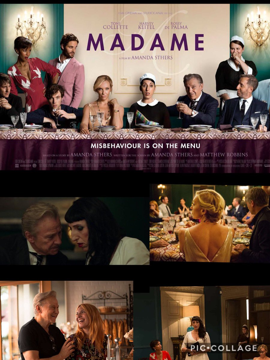 MADAME stars Heavey Keitel and is about being out of place.  A fair film but in the end I thought that Maria need a bigger drop from her lowly top!  #Madame #MovieReview #Movie #Movies #Film #Films #Cinema #MovieLovers #NetflixAndForgetIt   https://bit.ly/3c0dRzVpic.twitter.com/du3xHNersL
