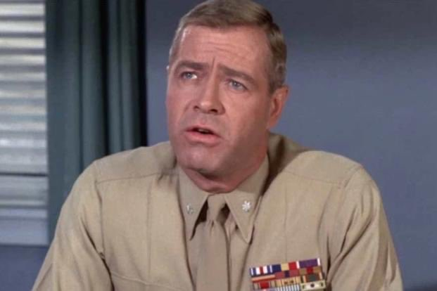 """WWII Veteran, Star of 'Gomer Pyle' Dies at 94 After Coronavirus Diagnosis  @RealGilbertACP @RealGilbert @Franksantopadre a real Hero WW2 Veteran Forrest Compton, an Army veteran who earned his greatest fame playing Marine Lt. Col. Edward Gray on """"Gomer Pyle: U.S.M.C. pic.twitter.com/GdZfuPaeuq"""