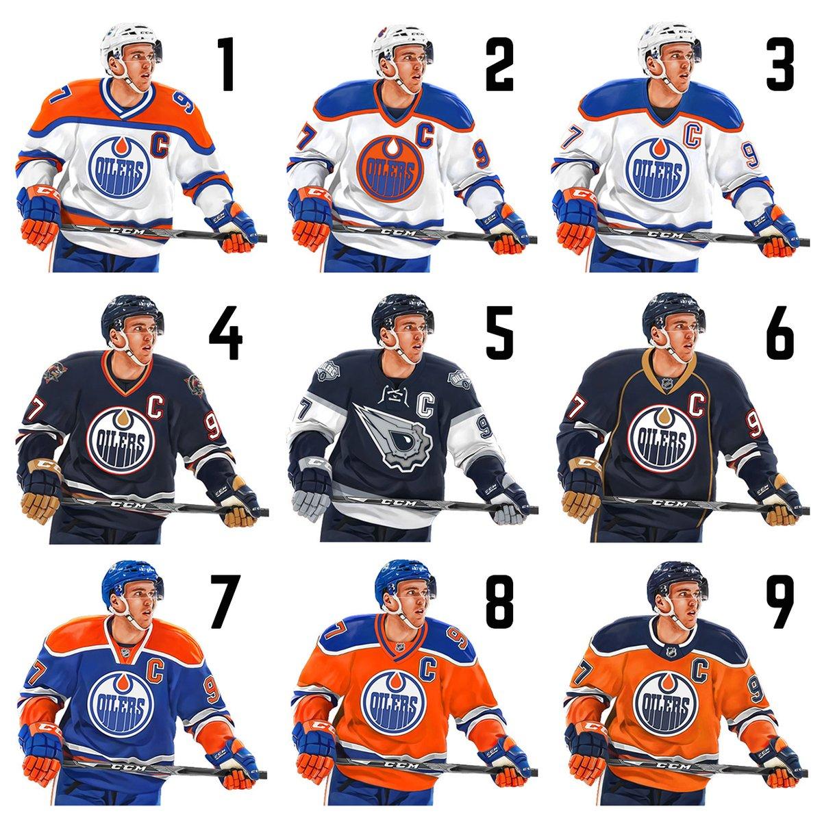 Edmonton Oilers On Twitter Pick Your Three Oilers Fans