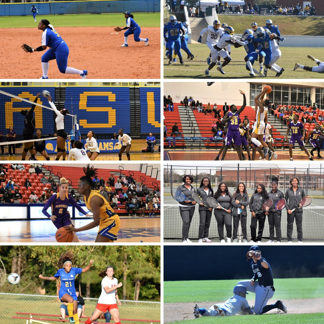 Happy National Student Athlete Day to all of our #AlbanyState student athletes. Thank you for your dedication, hard work and teamwork! #ALL4ASU @ASUGoldenRams https://t.co/QgLGmagH0d