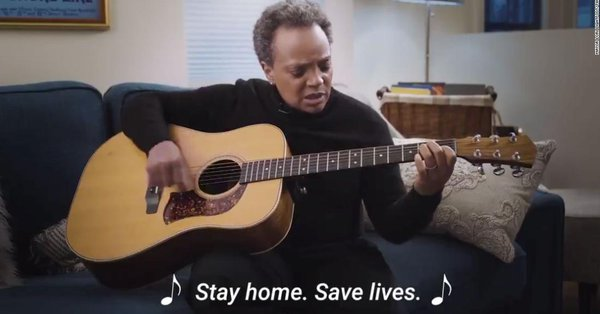 """Chicago Mayor Lori Lightfoot urges people to """"Stay Home, Save Lives"""" in humorous Twitter video https://cnn.it/2V51v2B"""